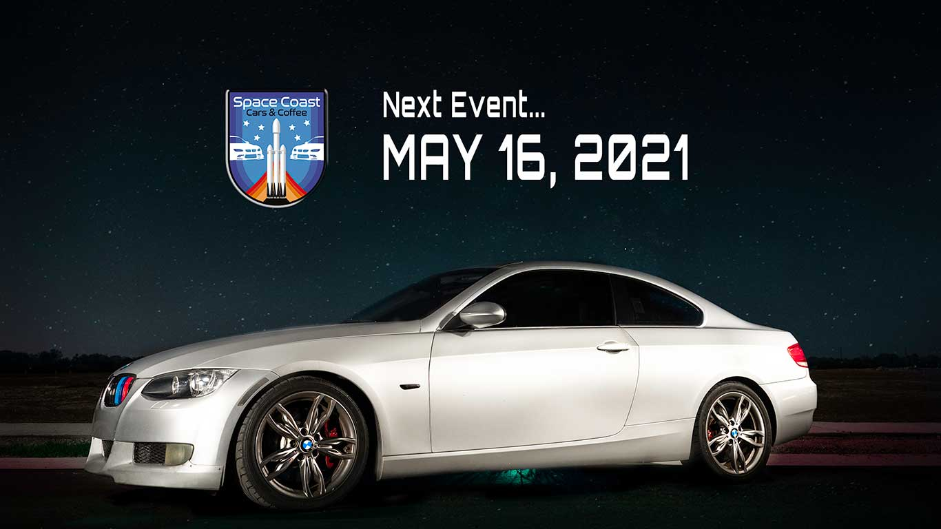 Space Coast Cars and Coffee May 16 2021 Event